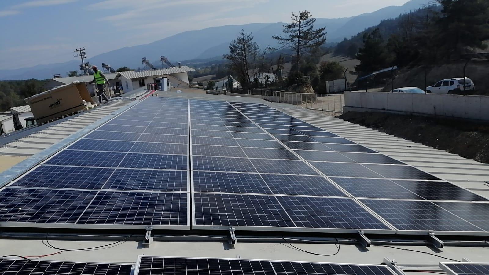 Bolu Göynük Kumtarla 400 kWp Çatı GES