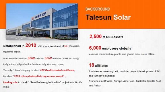 Talesun Solar