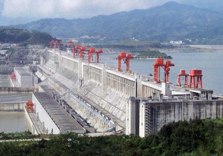George Barajı - 22.500 MW- Sandouping-Yangtze Nehri-Çin