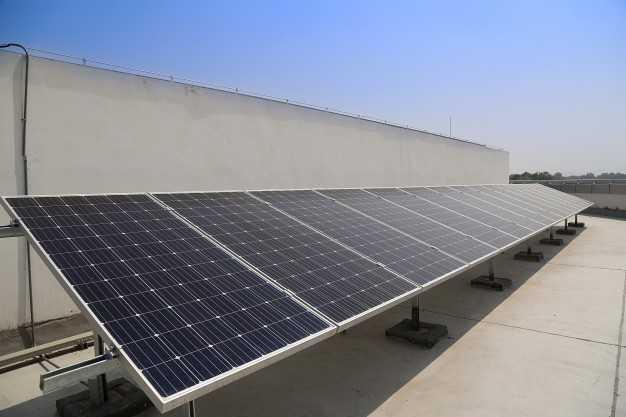 Çatıda Güneş Panelleri