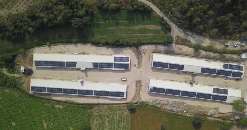 480 kWp Çatı GES