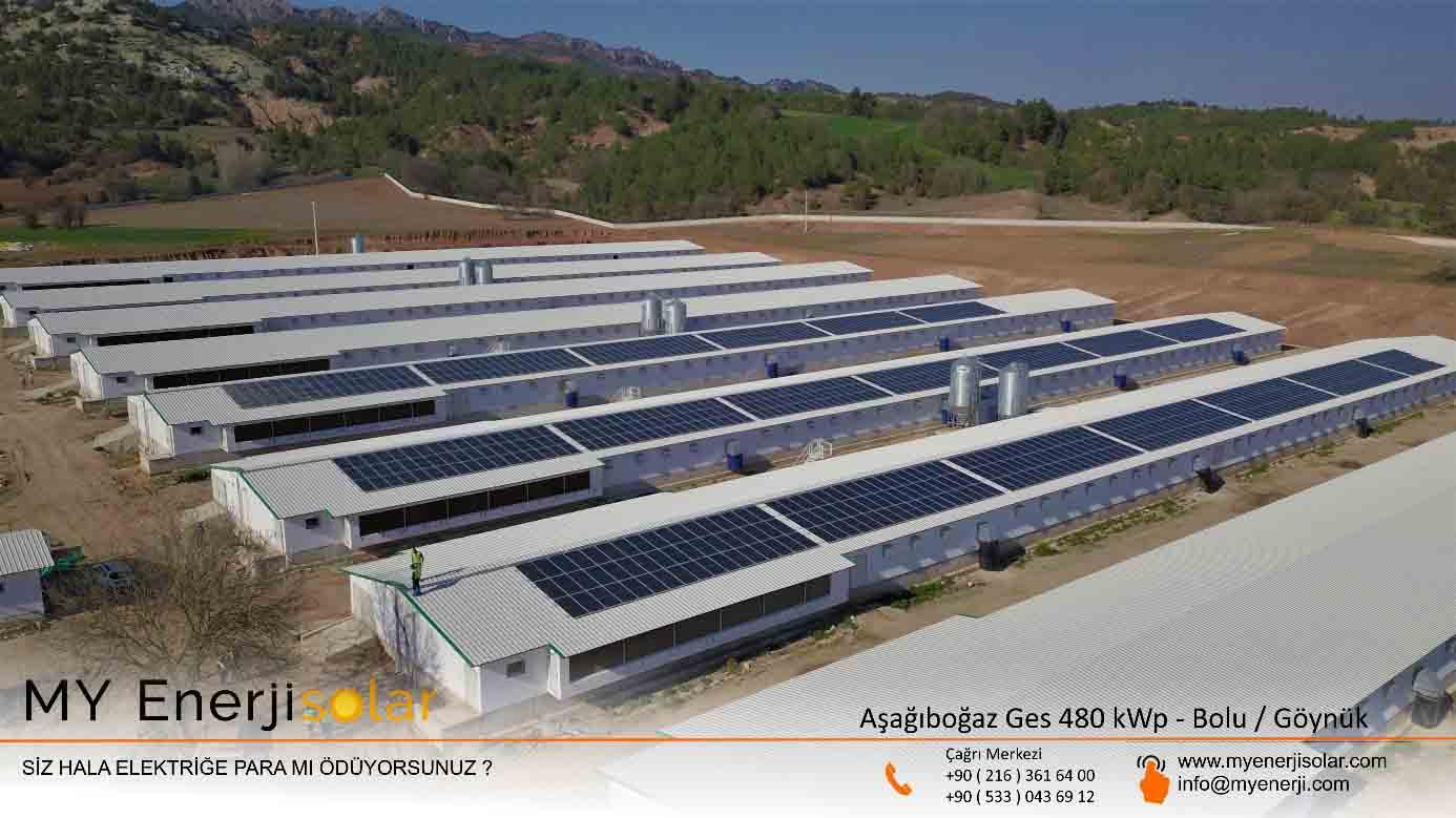 Aşağıboğaz Ges 480 kWp - Bolu/Göynük